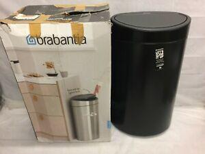 Brabantia Touch Bin New, 40 Litre - Matt Black