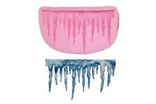 Forma in silicone ghiaccioli Icicle GHIACCIO ICE NEVE SNOW fondente SILICON MOLD tortendeko