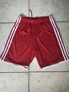 Adidas Men's Climcool Shorts Red Size Small