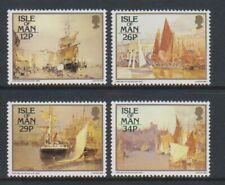 Île de Man - 1987, Tableaux Par John Miller Nicholson Ensemble - MNH - Sg 340/3