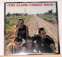 THE CLASH - COMBAT ROCK - 1982 Epic LP Record Album FE 37689 - Rock the casbah
