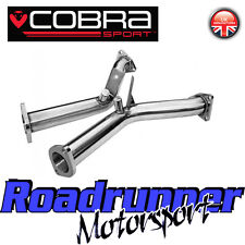 Cobra Sport Nissan 370Z Decat Pipes Stainless Steel Exhaust De-cats Fits OE NZ18
