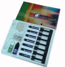 Dental Resin 7 Syringe Composite Kit Prime Dent USA  Light Cure Hybrid