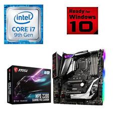 Bundle Intel Core i7 9700K-8x@4,90GHz-MSI Z390 Gaming Pro Carbon
