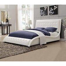 Coaster Home Furnishings 300372KE Eastern King Bed White  NEW