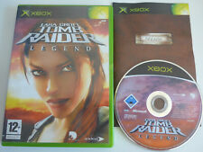 Tomb Raider Legend Xbox Game Complete Tested PAL UK
