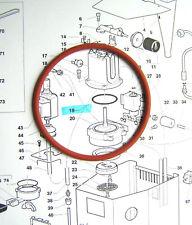 GAGGIA Cubika 6x O Ring Kit Di Riparazione Guarnizione in silicone CALDAIA A VAPORE BRACCIO LIBERO 1st P /& P