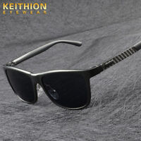 KEITHION Aluminium HD Polarized Sunglasses Men Driving Fishing Sports Eyewear