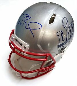 Tom Brady - Autographed Super Bowl 53 Full Sized Helmet with TriStar Hologram