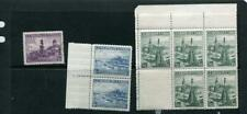 Czechoslovakia 1936 Mi 359-9 MNH Single. Block 2,5  4949