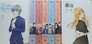 Fruits Basket Collectors Ed.  Vol. 2,4,5,9-12 English Manga Graphic Novel NEW