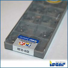 VCGT 332 AS IC20 ISCAR *** 10 INSERTS *** FACTORY PACK ***