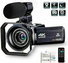 1080P 4K Video Camcorder Ultra HD Vlogging Camera for YouTube 24MP 16X Digital