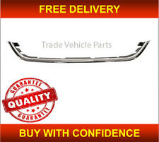 MICRA K14 2013- FRONT BUMPER GRILLE MOULDING CHROME/BLACK HIGH QUALITY