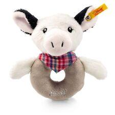 Steiff Happy Farm Kuh Cowaloo Greifring mit Rassel 12cm Plüsch Geschenk 241048