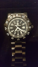 Smith and Wesson Tritium Commanders Wrist Watch Model #SWW-357-BSS Hardly Used