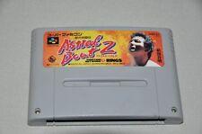 Nintendo Super Famicom juego SNES-japón NTSC-J-astral Bout 2-Wrestling