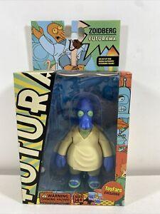 Futurama Blue Zoidberg Universe 1  - 2007 ToyFare Exclusive, Unopened New In Box
