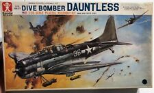 Bandai US Navy Dive Bomber Dauntless 1/50 Open 'Sullys Hobbies'