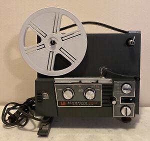 Vintage DeJur Eldorado Dual 8 Projector 888AZ - Works in good condition