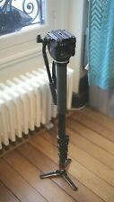 Manfrotto 561BHDV-1 Fluid Video Monopod and Head Load capacity up to 4Kg, max 2m