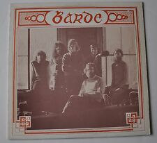 BARDE self titled LP Record Quebec Folk 1970s French