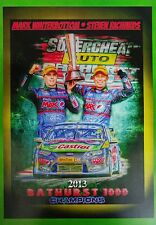 2013 Bathurst Winners Winterbottom - Richards A3 Poster Print Picture Image