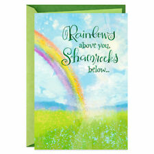 Rainbows and Shamrocks Musical St. Patrick's Day Card