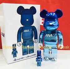 Medicom 2014 Be@rbrick ANA The 9th Generation 400/% CA Uniform Model Bearbrick