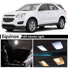 White Interior LED Light Package Kit for 2005-2009 Chevrolet Equinox