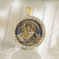 Our Lady of Manaoag Virgin Mary Catholic Medal Pendant Religious Jewelry