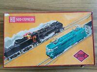 lot Jouef HO - Coffret Train Electrique Sud Express + remorques train etc...