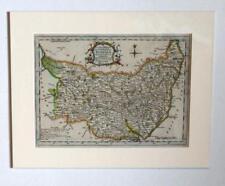 ANTIQUE MAP - (SUFFOLK) THOMAS KITCHIN  1764 (MOUNTED)