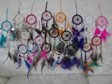 Set of 3 assorted 6cm diameter mini dream catchers - pick your colours