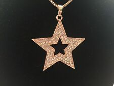 Betsey Johnson Five-pointed Star Pendant Chain Necklace