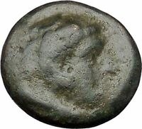 Alexander III the Great as Hercules 336BC Ancient Greek Coin Bow Club i47282