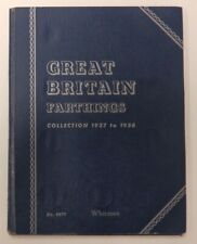 More details for gb uncirculated farthings collection 1937-1956 full whitman folder 24 bu coins