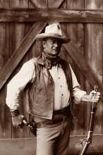 VINTAGE JOHN WAYNE IN THE COWBOYS MOVIE POSTER PRINT 36x24 9MIL PAPER