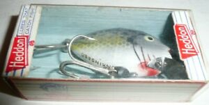 "Heddon 9630 Punkinseed Crappie with Box Marked ""Research"" Excellent Condition"