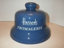 Harrods Knightsbridge Fromagerie Cheese Bell Dome Blue