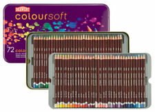 Derwent Coloursoft Tin Set of 72 - Assorted Colors