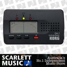 Korg GA-1 Solo Digital Tuner For Guitar & Bass w/3 Years Warranty **BRAND NEW**