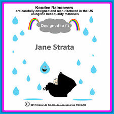 "Koodee Raincover Designed to fit the  ""Jane Strata"" Car Seat. Made in the UK"