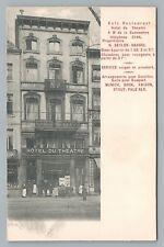 Liège Belgium Cafe BEER Bock—Saison—Stout—Pale Ale—Rare Antique Bar CPA 1900s