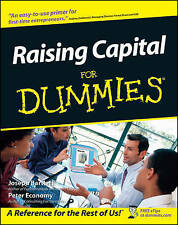 NEW Raising Capital For Dummies by Joseph W. Bartlett