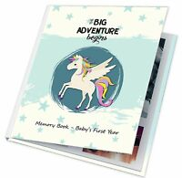 Love Baby Unisex Girl Boy Memory Keepsake Book First 1st Year Journal Album Book