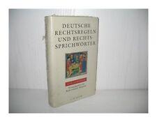 Rechtsbücher auf Deutsch