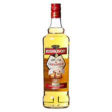 Rushkinoff Caramello Vodka - 100cl - Rushkinoff