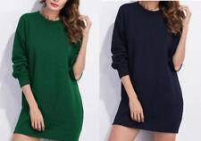 Boyfriend Sweatshirt Tunic Dresses Size /& Color Choice Soft Roomy!