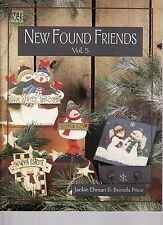New Found Friends 5 by Jackie Ehman & Brenda Price   Tole Painting Pattern Book